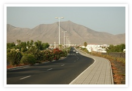 Take Lanzarote car hire to explore the road to Playa Blanca